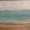 Ахтопол, северен плаж,1968г, 19,5х26,5, масло, платно