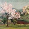 Пролет в горна баня,1962, 30х40, масло, платно