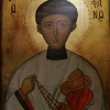 Св.Стефан, 20х15,  темпера, дърво