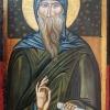 Св.Антоний, 10х16, темпера, дърво