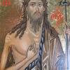Йоан Кръстител, темпера, 18х11