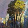"""""""Градски пейзаж"""", 30х24, маслено, платно"""