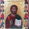 Исус Христос, 64х48, темпера, дърво