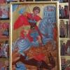 Св. Георги, 38х29, темпера, дърво