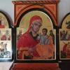 триптих:Богородица, Св. Петка, Св.Параскева, Св.Петър и Св.Павел. Св. Георги и Св.Димитър