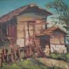Къщата, 38х46, масло, платно