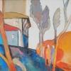 Пейзаж, 25х30, маслени бои, платно