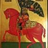 Св. Димитър, 30х42, темпера, дърво
