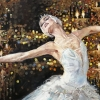 Бляскава балерина, 70х100, масло, платно