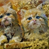 kitties_14x18_oil-canvas