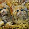 kitties_14x18_oil-canvas