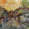 ''Къщата на Тодор Каблешков, 30х30, смесена техника