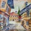 Пейзаж от Банско, 27х27, масло, платно