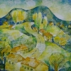 landscape-manastir-village_30x30_oil-canvas